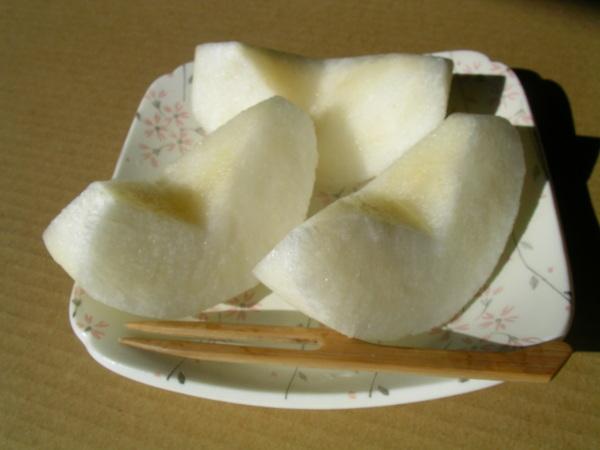 幸水梨の予約販売を始めました。