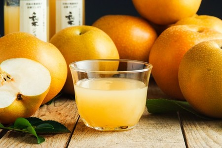 幸水梨と梨ジュース